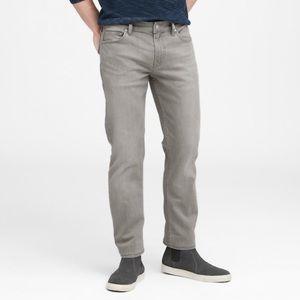 Banana Republic gray jeans